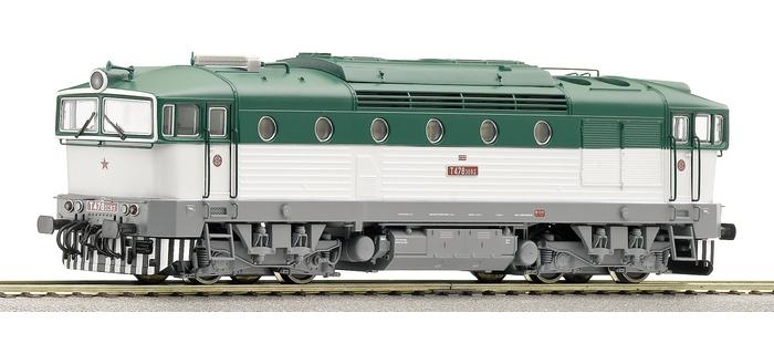 roco 62925 Locomotive Diesel, série 754, CSD