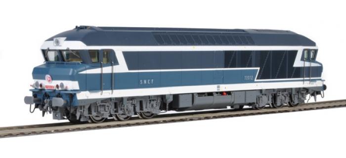 Locomotive  diesel CC72012, SNCF