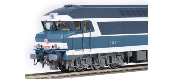 Locomotive diesel CC72012,  SNCF, DC Digital son