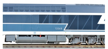Locomotive diesel CC 72048, SNCF