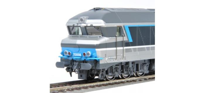 Roco 62987 - Locomotive diesel CC 72006 Isabelle, SNCF, DC Digital Son