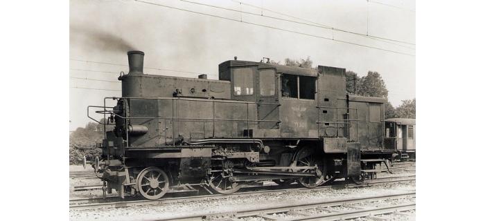 roco 63306 fourgon automoteur à vapeur série 71.5, DRB