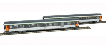 ROCO 64002 - Set de 2 voitures Corail,  SNCF