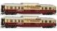 Train électrique : ROCO R63098 - Set 2 voitures panoramiques MTHB