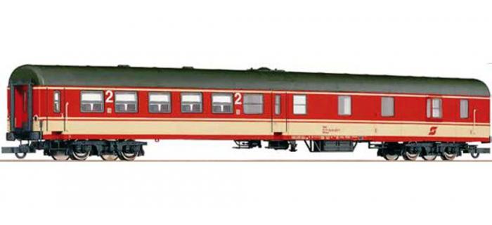 Train électrique : ROCO R64428 - Voiture 2cl/fourgon OBB