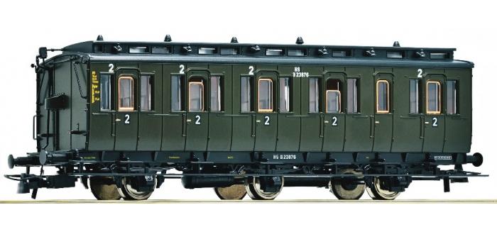 Train électrique : ROCO R64453 - Voiture 3 essieux 2cl NS