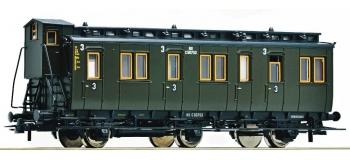 Train électrique : ROCO R64454 - Voiture 3 essieux 3cl NS