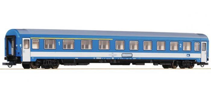 Modélisme ferroviaire : ROCO R64490 - Voiture eurofima 1/2CL MAV