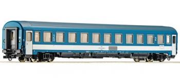 Train électrique : ROCO R64491 - Voiture de voyageurs 2ème classe des MAV