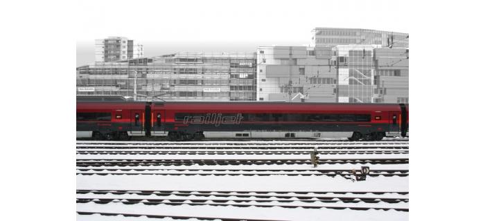 roco 64722 Voiture Railjet Economy des ÖBB