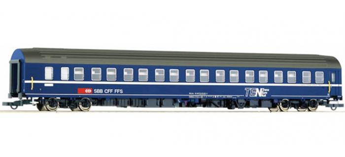 Train électrique : ROCO R64770 - voiture couchettes T2S SBB