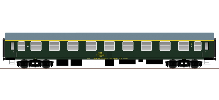 roco 64805  Voiture voyageurs 1ère classe.  CSD