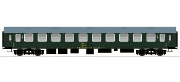 roco 64807 Voiture 2ème classe du type UIC-Y