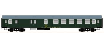roco 64808 Voiture 2ème classe / fourgon type UIC-Y  CSD