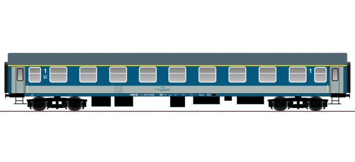 roco 64811 Voiture voyageurs 1ère classe UIC-Y, MAV