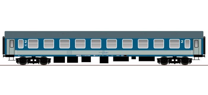 roco 64812  Voiture voyageurs 2ème classe UIC-Y, MAV