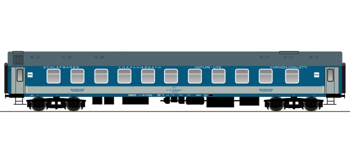 roco 64814 Voiture-lit du type UIC-Y, MAV