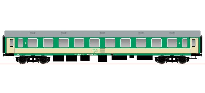 ROCO 64818 Voiture 2ème classe type Y PKP