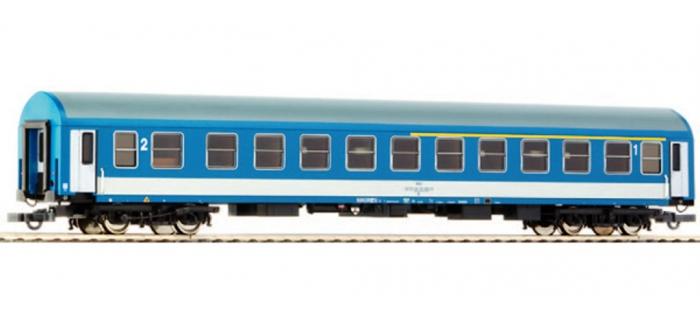 Modélisme ferroviaire : ROCO R64848 - Voiture mixte 1/2cl MAV