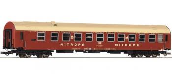 Modélisme ferroviaire : ROCO R64849 - Voiture-lits Y/B 70 des DR