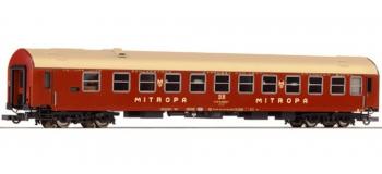Train électrique : ROCO R64876 - Voiture Mitropa DR