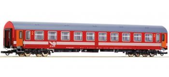 Train électrique :  ROCO R64883 - Voiture 2ème classe ZSR