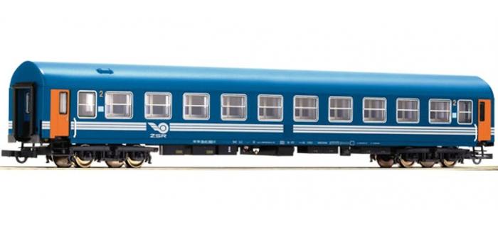 Train électrique :   ROCO R64885 - Voiture lits ZSR