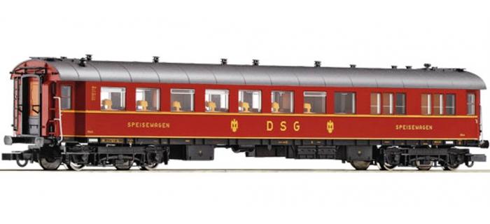 Modélisme ferroviaire : ROCO R64892 - Voiture restaurant DSG