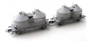 roco R66022 2 wagons silos, SNCB