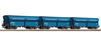 roco 66089 Coffret 3 wagons-trémies, DSB