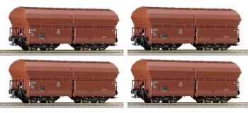roco 66099 Coffret de 3 wagons trémies à clapets