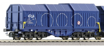 roco 66113 Coffret de wagons à capots télescopiques, avec son