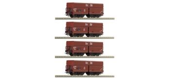 R66128 SET 4 WAG.DECHARG.AUTO DB train electrique