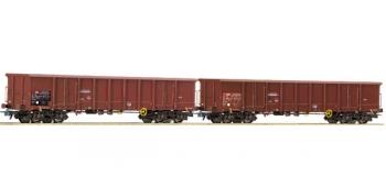 R66140 SET 2 WAG.TOMB.SBB train electrique