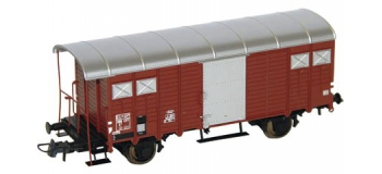 Modélisme ferroviaire : ROCO R66204 - Wagon couvert SBB