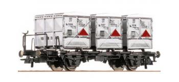 ROCO R66263 - Wagon plat container SBB