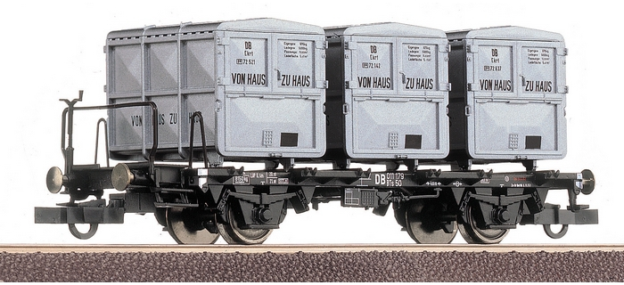 roco 66267 Wagon porte-containers de la DB