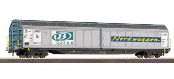 roco 66299 Wagon à parois coulissantes, SNCB train electrique