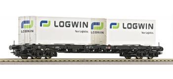 roco 66583 Wagon porte-containers de la DB
