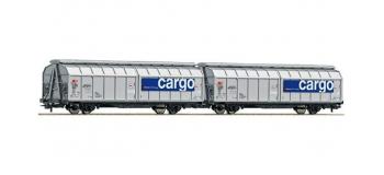 modélisme ferroviaire : ROCO R66736 - Wagon double couvert SBB cargo