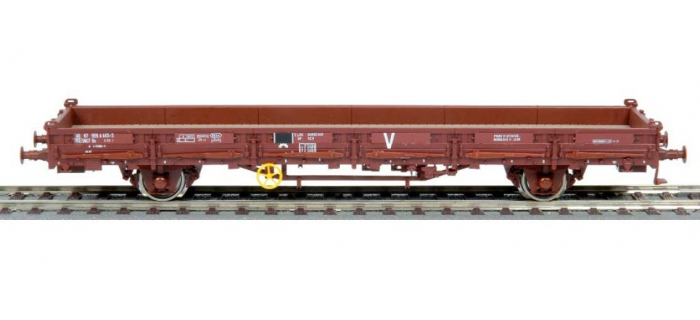 "roco 66770 Wagon plat à ranchers Ks50, SNCF, inscription ""V"""