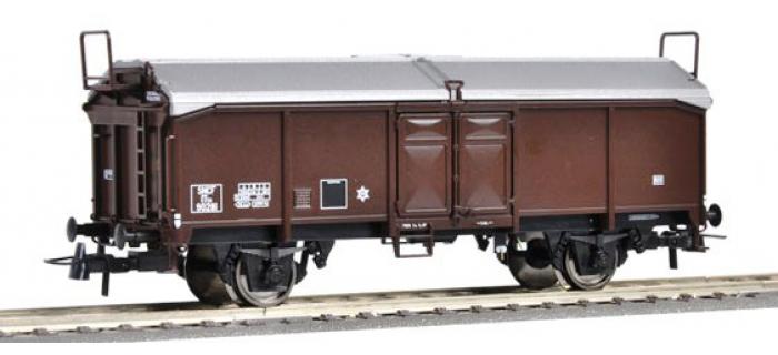 Train électrique : ROCO R66854 - Wagon toit coulissant SNCF