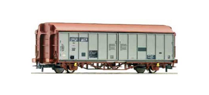 Train électrique : ROCO R66865 - Wagon parois coulissantes SBB