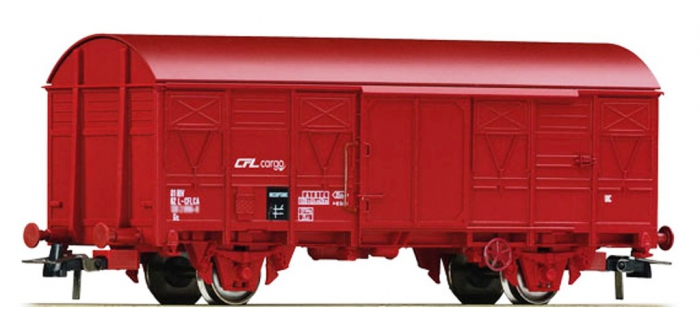 Train électrique :  ROCO R66873 - Wagon couvert CFL Cargo