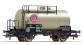 Modélisme ferroviaire : ROCO R66908 - Wagon citerne GULF NS