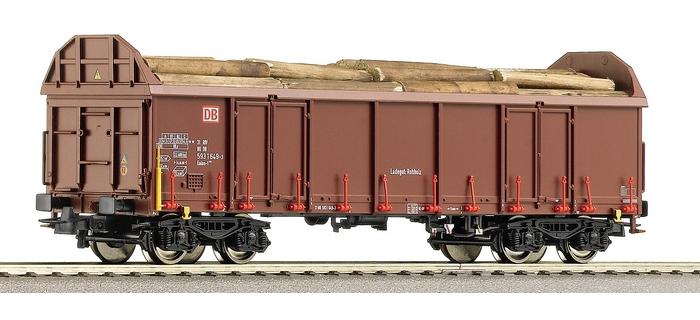 Wagon pour le transport de bois, type Ealos-t, DB AG