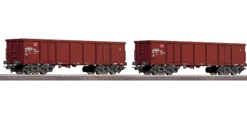 ROCO 66949 - Set de 2 wagons tombereaux, DB AG