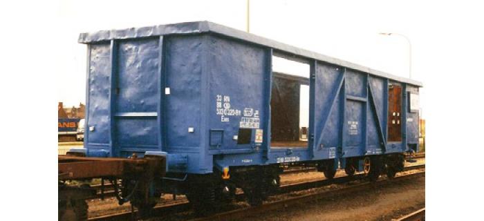 Train électrique :  ROCO R66996 - Wagon tombereau IFB SNCB
