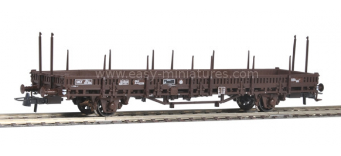 modelisme ferroviaire roco 67241 Wagon plat a ranchers, SNCF