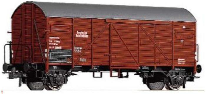 MODELISME FEROVIAIRE ROCO67367 - Wagon couvert DR